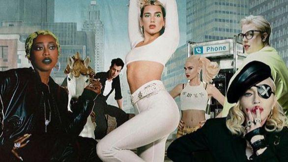 Dua Lipa relanzará el disco 'Future Nostalgia' con invitados como Madonna