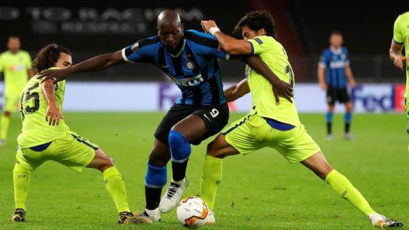 Europa League. El Inter destruye el sueño de un Getafe impotente | 2-0