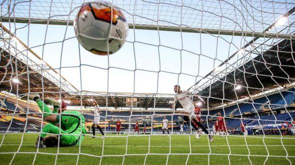 Europa League. El Sevilla alecciona a la Roma y entra en cuartos | 2-0
