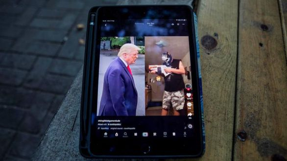 Trump prohibe cualquier negocio con TikTok y China denuncia abuso de poder