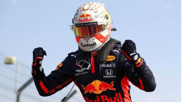 F1. Verstappen luce victoria ante los problemas de Mercedes