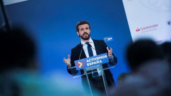 Casado critica la pasividad de Sánchez ante el aumento de la okupación