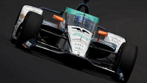 Indy500. Fernando Alonso toma contacto: quinto mejor
