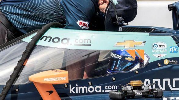 Indy500. Alonso supera su accidente a 350 km/h pero saldrá desde el puesto 26º