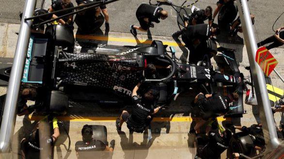 GP España. Hamilton vence a Bottas y amplía su récord de 'poles'