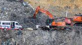 Tras seis meses, hallan restos óseos humanos en el vertedero de Zaldibar