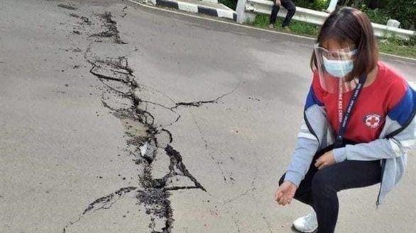 Un terremoto de magnitud 6,7 causa daños y al menos un muerto en Filipinas