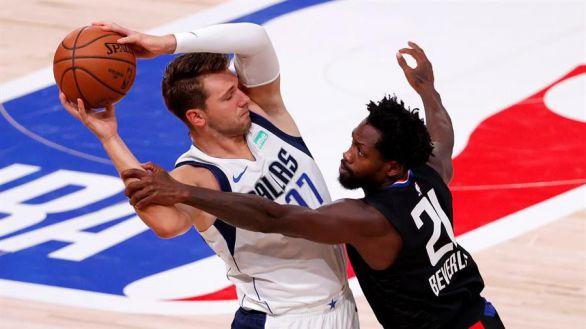 NBA. Luka Doncic debuta en playoffs con una actuación histórica