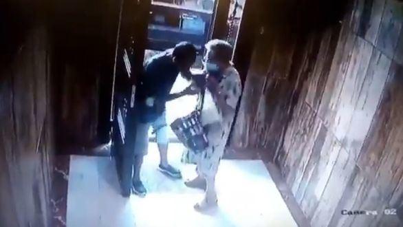 Brutal agresión en Valencia a una anciana de 85 años en su portal