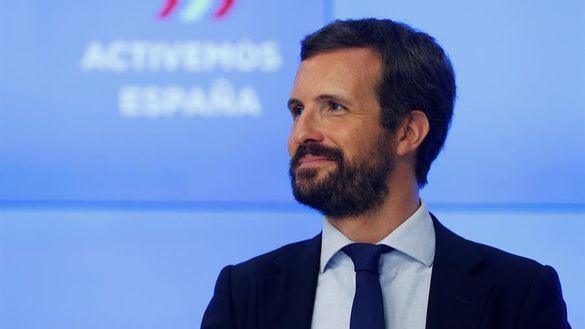 Casado agradece el trabajo de Álvarez de Toledo: