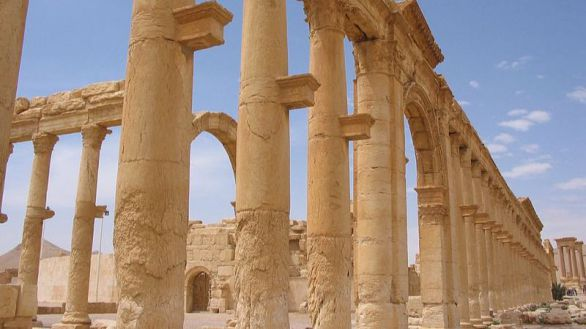Palmira, pendiente de reconstrucción cinco años después