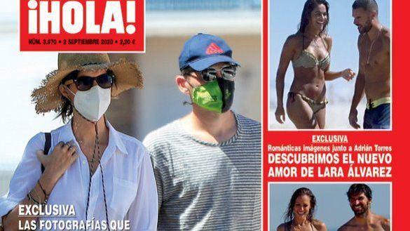Iker Casillas y Sara Carbonero, felices durante sus vacaciones en el pueblo del portero