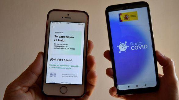 La app Radar COVID ya funciona en siete comunidades y acumula dos millones de descargas