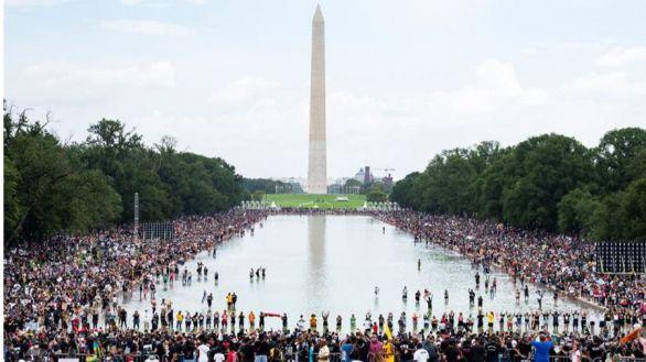 57 años del 'I have a dream': miles rememoran el discurso de Martin Luther King