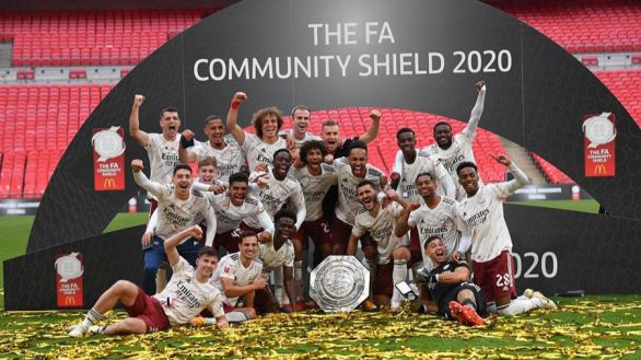 Community Shield. El Arsenal de Arteta sobrevive al Liverpool y es campeón