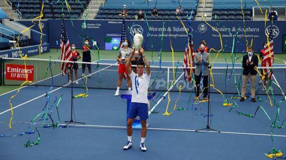 Masters Cincinnati. Djokovic se corona y caza a Rafa Nadal
