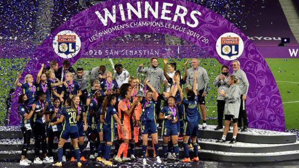 Champions femenina. El Lyon se proclama campeón por quinta vez consecutiva