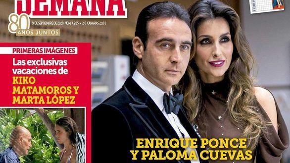 Enrique Ponce y Paloma Cuevas inician el proceso de divorcio