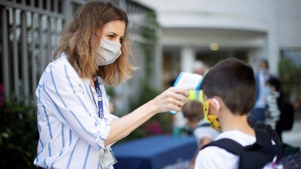 Así actuará el colegio si un alumno o un profesor da positivo en coronavirus