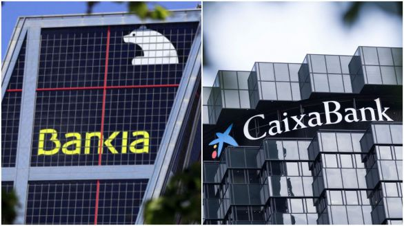Bankia y CaixaBank planean una fusión