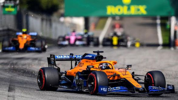 GP Italia. Carlos Sainz roza la gloria y pone los dientes largos a Ferrari