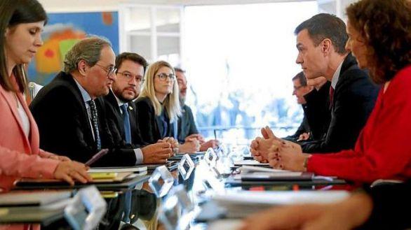 Sánchez acelera su reunión con Torra en busca de apoyos para los presupuestos
