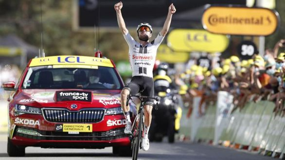 Tour de Francia. La juventud se abre paso: Hirschi gana su etapa