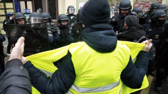 Disturbios aislados y poca afluencia en la vuelta de los