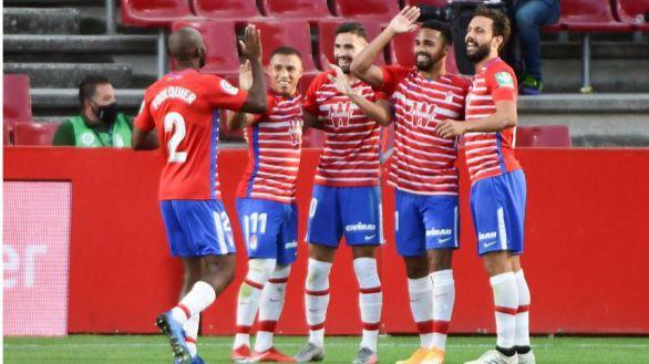 El Granada mantiene la ilusión ante el Athletic  2-0
