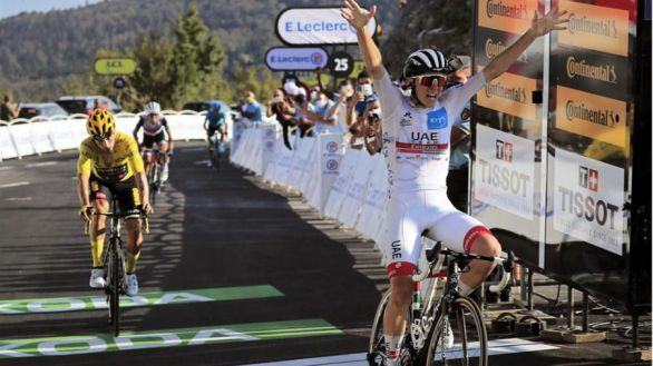 Tour de Francia. Triunfo de Pogacar en una etapa reina que criba a Bernal y Quintana