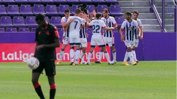 Valladolid y Real Sociedad se atascan con el empate |1-1