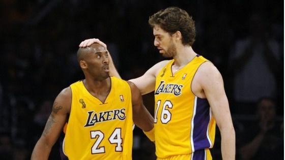 Pau Gasol rinde homenaje a Kobe Bryant en el nombre de su hija