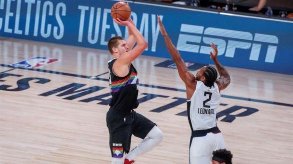 NBA Playoffs. Los Nuggets completan el shock y destierran a los Clippers