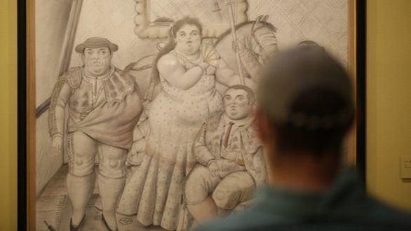 El espacio CentroCentro acoge la mayor exposición monográfica de Botero