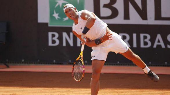 Masters Roma. Rafa Nadal arrasa en su regreso tras casi 200 días sin jugar