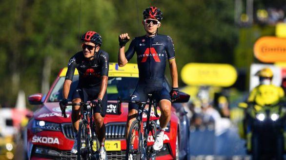 Tour de Francia. El Ineos se desquita y los españoles se reivindican