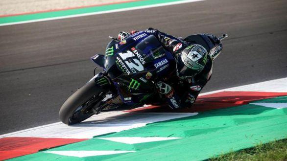 GP Emilia Romagna. 'Pole' y récord de Maverick Viñales