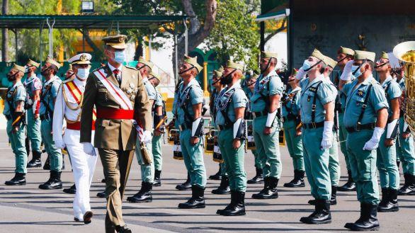 El Rey conmemora el centenario de la Legión