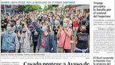 Las portadas de los periódicos de este lunes 21 de septiembre