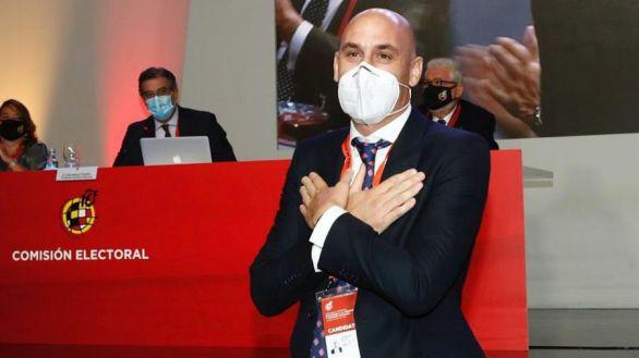 La Asamblea de la RFEF reelige presidente a Rubiales