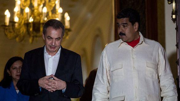 Zapatero pide junto a Maduro y Da Silva la liberación de Assange