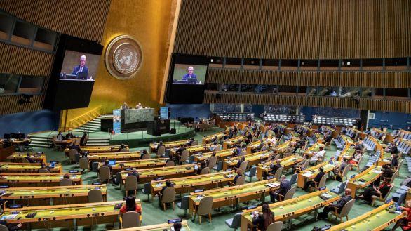 La ONU celebra su 75 aniversario pese a la ausencia de Trump