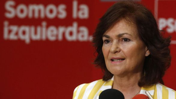 Carmen Calvo retoma la negociación con Bildu para aprobar los Presupuestos