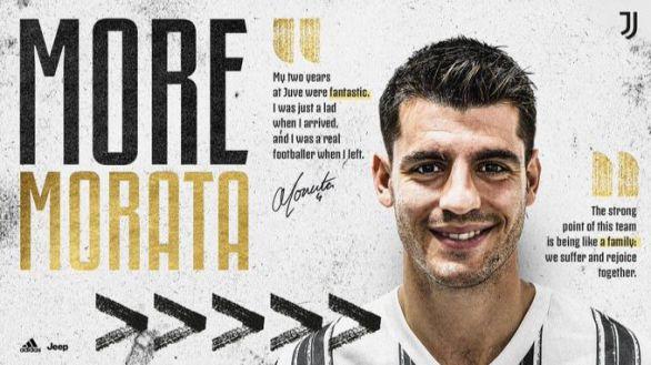 El enésimo revés en la carrera de Morata: cedido a la Juventus