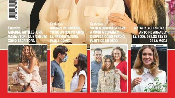 Andrés Velencoso tiene nueva novia: la actriz y presentadora Paula Gómez
