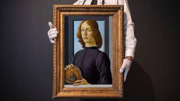Uno de los últimos retratos de Botticelli podría marcar un nuevo récord