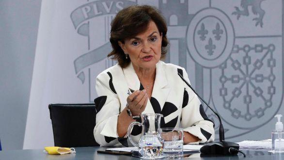 Carmen Calvo agradece al Rey que