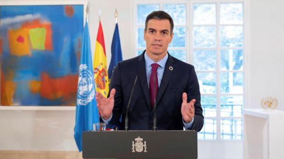 Con dos de sus ministros atacando al Rey, Pedro Sánchez pide unidad ante la ONU