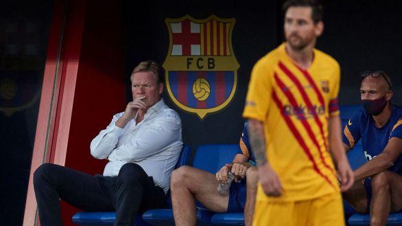 Hasta Ronald Koeman da palos a Bartomeu por su gestión en el Barcelona