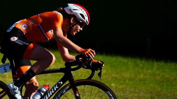 Mundial femenino. Anna van der Breggen firma un doblete en ruta y crono